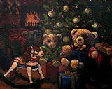 圣诞节之后装饰画