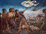艺术品在牧羊人的字段中拜特萨霍装饰画