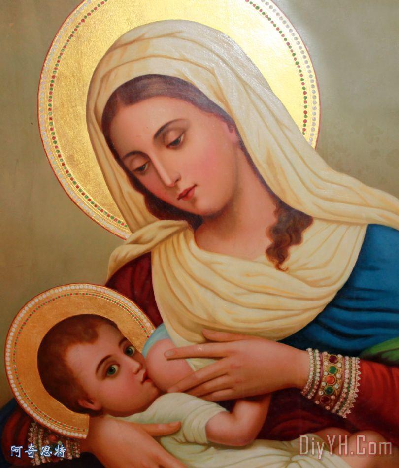 基督教 - 婴儿耶稣 - 基督教 - 婴儿耶稣装饰画