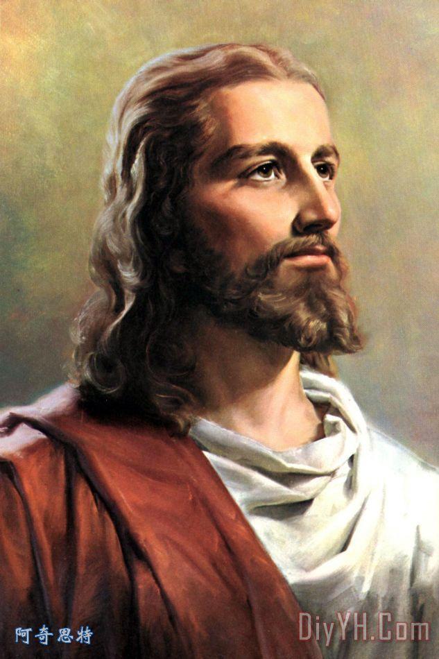 耶稣基督装饰画 宗教 宗教的 基督教徒 耶稣基督油画定制 阿奇思特 -耶