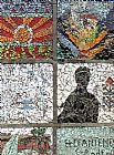 马赛克在比尔宰特街装饰画
