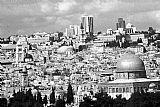 旧耶路撒冷黑色?白色装饰画