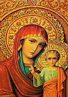 宗教红装饰画