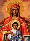 圣母玛利亚古画装饰画