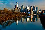 城市风光照片 - 宾夕法尼亚州费城的城市景观