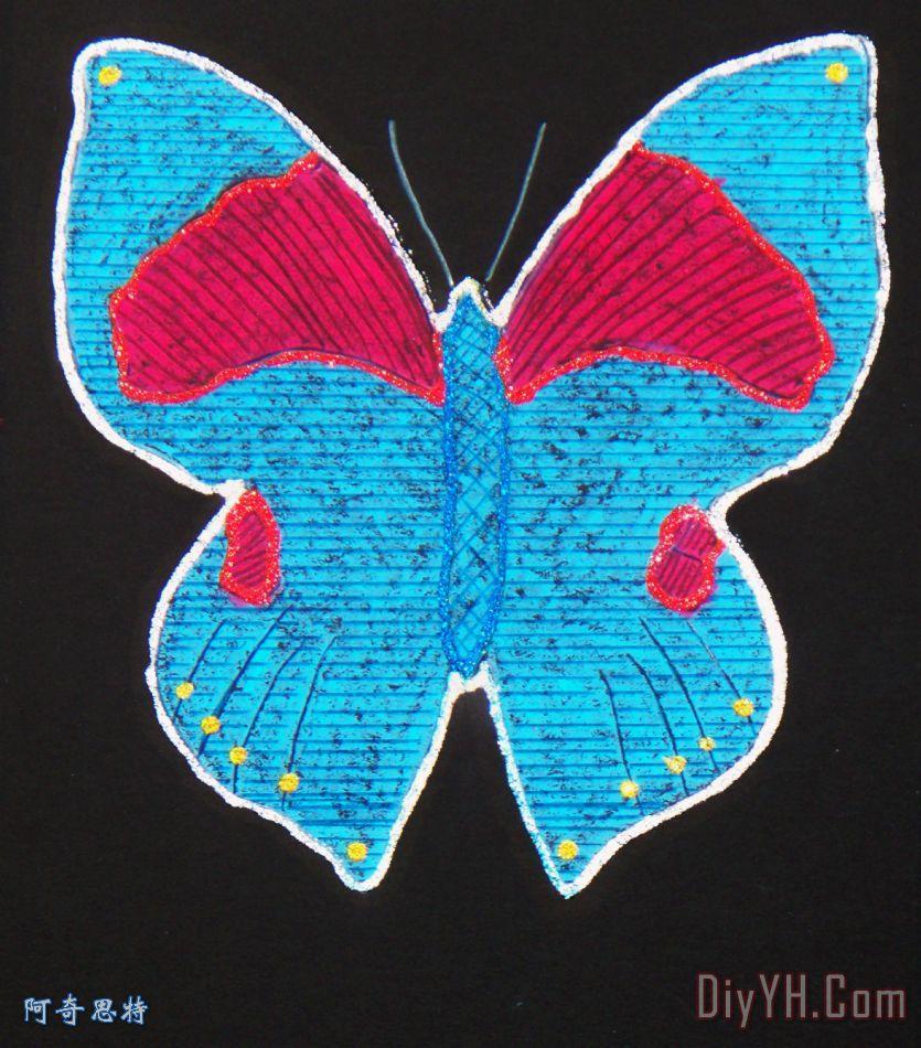 蝴蝶- 蝴蝶装饰画
