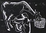 圣牛装饰画