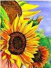 夏天向日葵装饰画