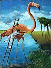 野生动物保护装饰画