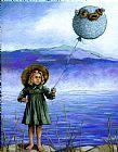 Puffaloon湖 - 奇幻景观肖像装饰画