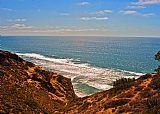 沿加州海岸的艺术景观装饰画