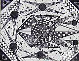 线条与形状装饰画