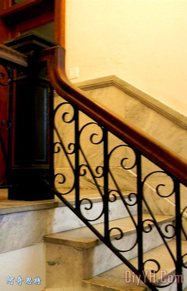 大理石楼梯案例装饰画_步骤_墙壁_大理石楼梯案例油画