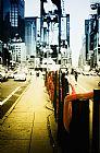 纽约时报广场写实装饰画
