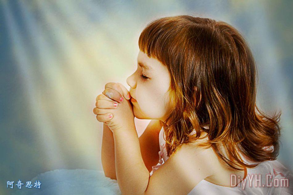 孩子的祈祷 - 孩子的祈祷装饰画