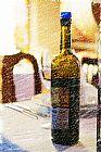 葡萄酒的晚餐装饰画
