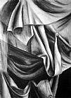 窗帘静物装饰画