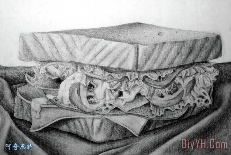 三明治绘图 - 三明治绘图装饰画