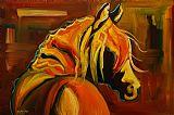 马撩人装饰画