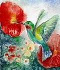 蜂鸟装饰画