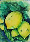 柠檬装饰画
