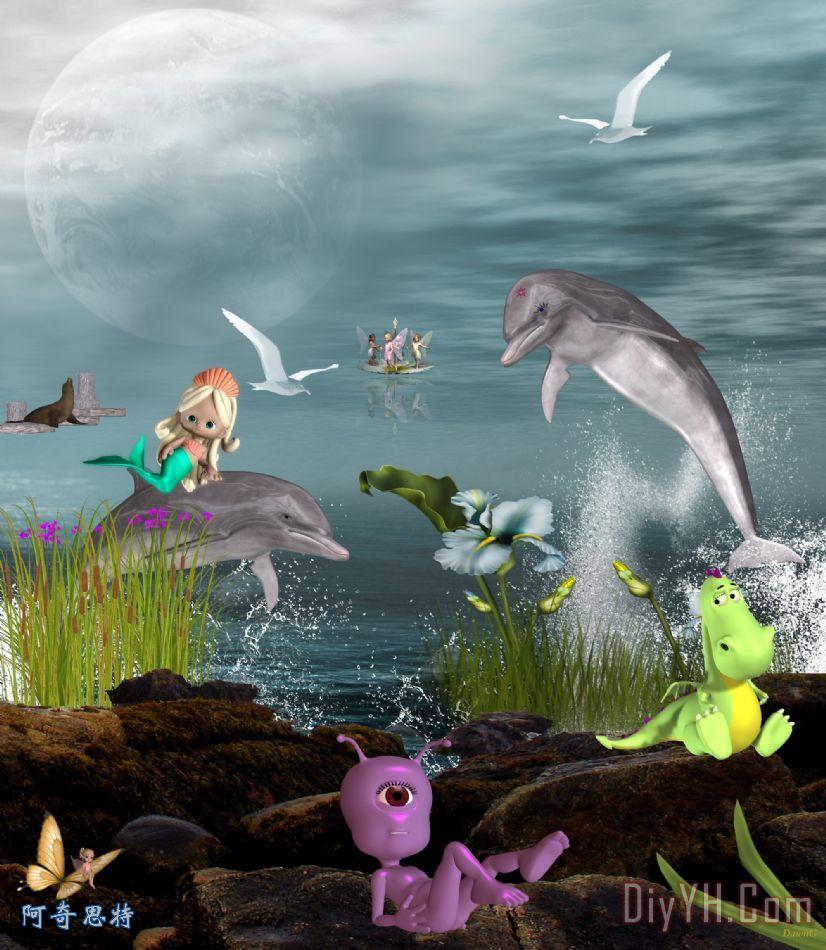 海豚玩 - 海豚玩装饰画