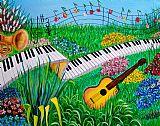 音乐花园音乐装饰画