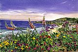 尼古湖花园装饰画