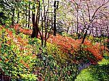迷人的花林美式田园风格装饰画