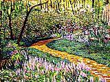 森林花园深处装饰画