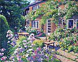 英国庭院装饰画