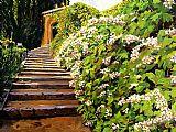 托斯卡纳 - 花园楼梯托斯卡纳