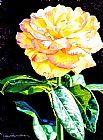 午夜玫瑰装饰画