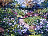 天然的花园装饰画