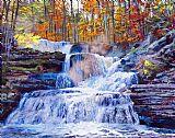 瀑布 - 十月瀑布
