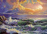 太平洋日落索纳塔装饰画