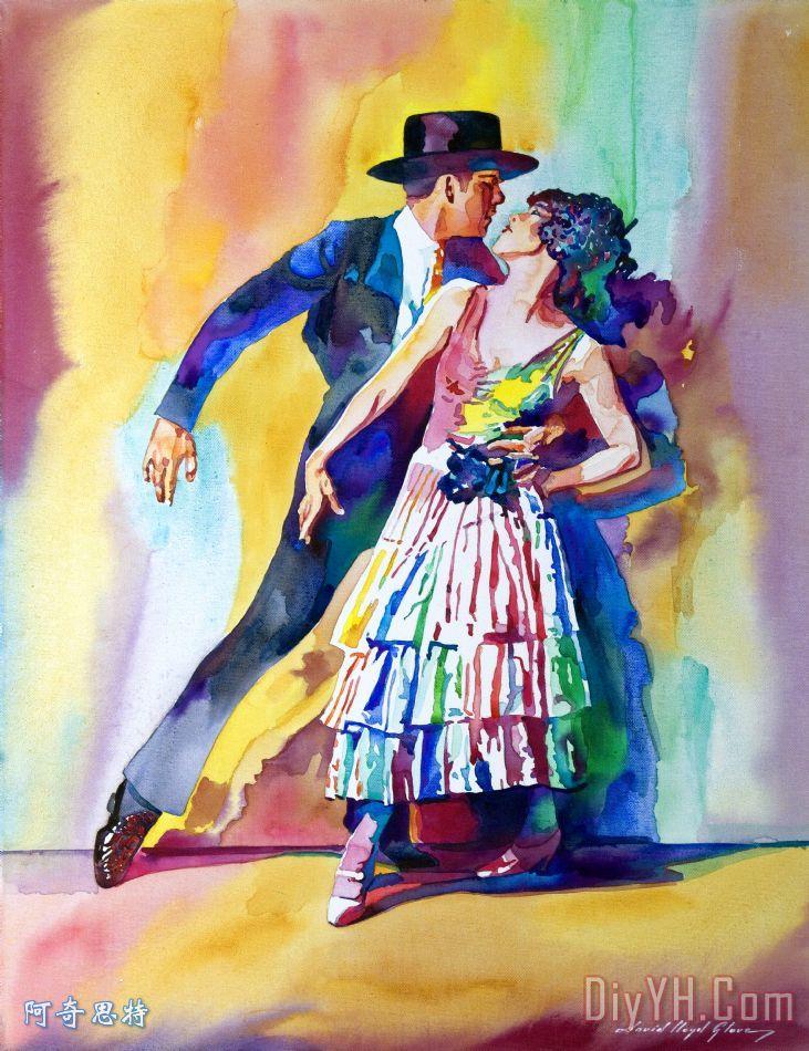西班牙舞蹈 - 西班牙舞蹈装饰画