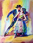 西班牙舞蹈舞蹈装饰画