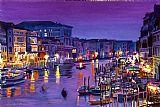 威尼斯之夜装饰画