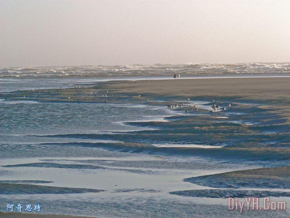 海景观装饰画_风景_蓝色_水_自然_海景观油画定制