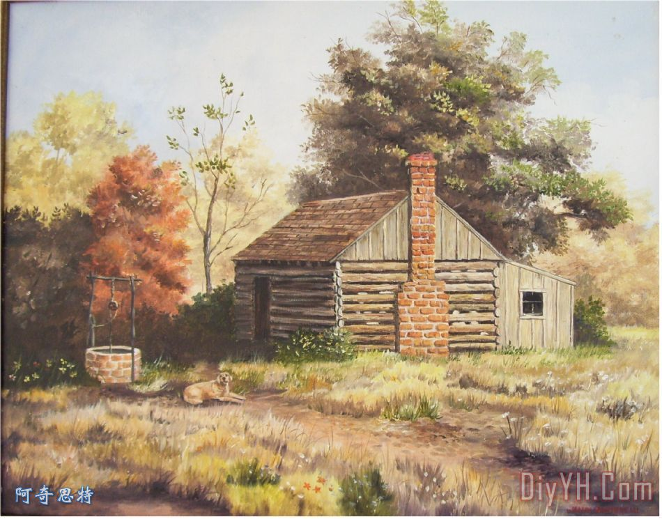一间小木屋在田纳西州 - 一间小木屋在田纳西州装饰画