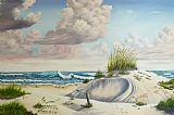 沙滩装饰画