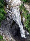 瀑布 - Taughannock瀑布上环径