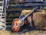 吉姆的吉他装饰画