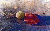 球悬铃木和叶装饰画