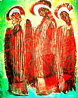 3圣徒装饰画