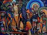 基督的异象装饰画