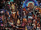 基督的死藤水愿景装饰画