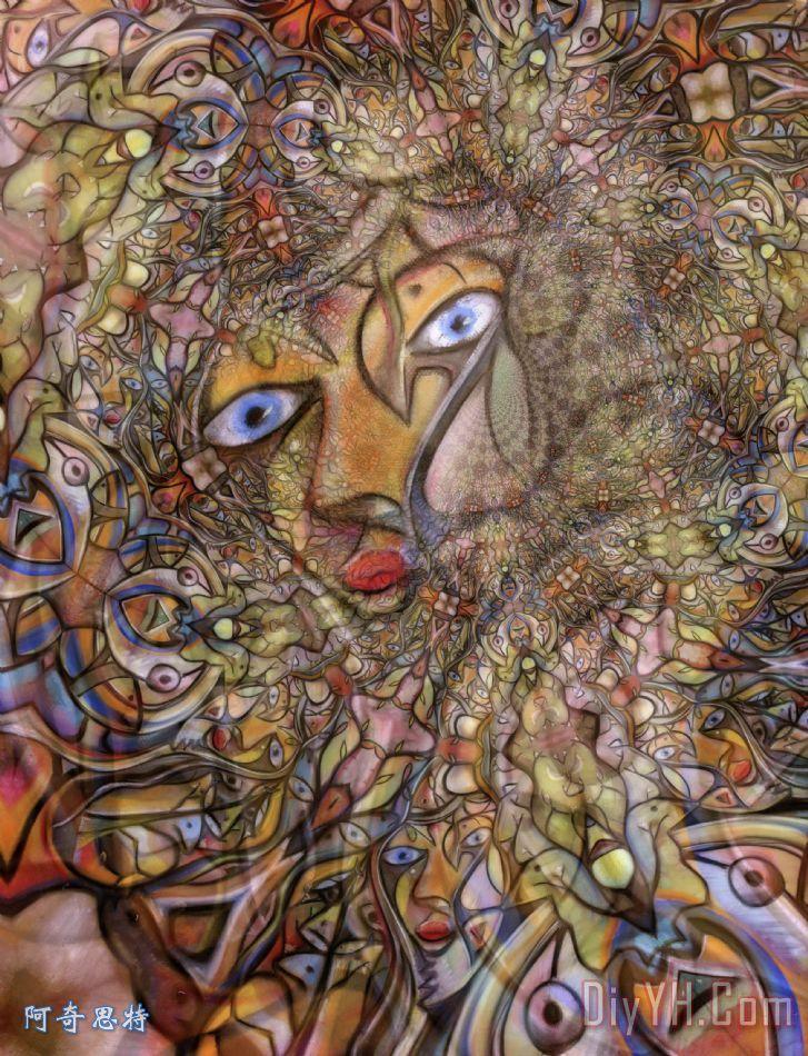 亚马逊的伏笔 - 亚马逊的伏笔装饰画