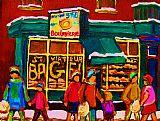 圣Viateur贝果面包系列装饰画